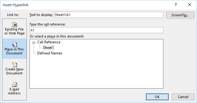 Training - Microsoft Excel - Hyperlinks - Inserting